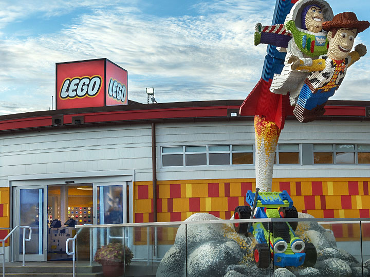 The Lego Store store front