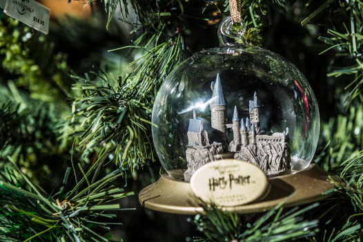 Harry Potter holiday ornament