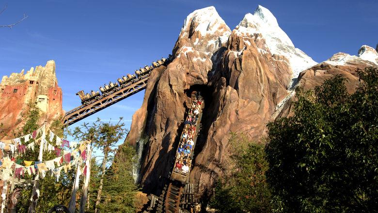 Everest roller coaster at Walt Disney World