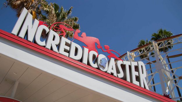 Incredicoaster sign