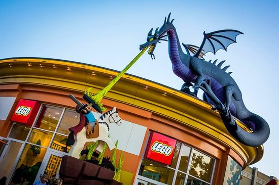 Lego Store out front