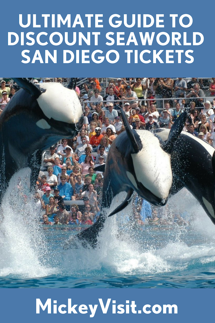 SeaWorld San Diego Tickets