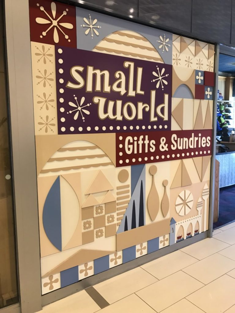 Small World gift shop