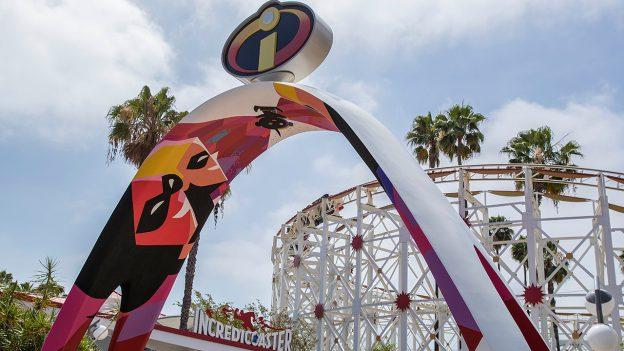 Disneyland in March- Incredicoaster on Pixar Pier