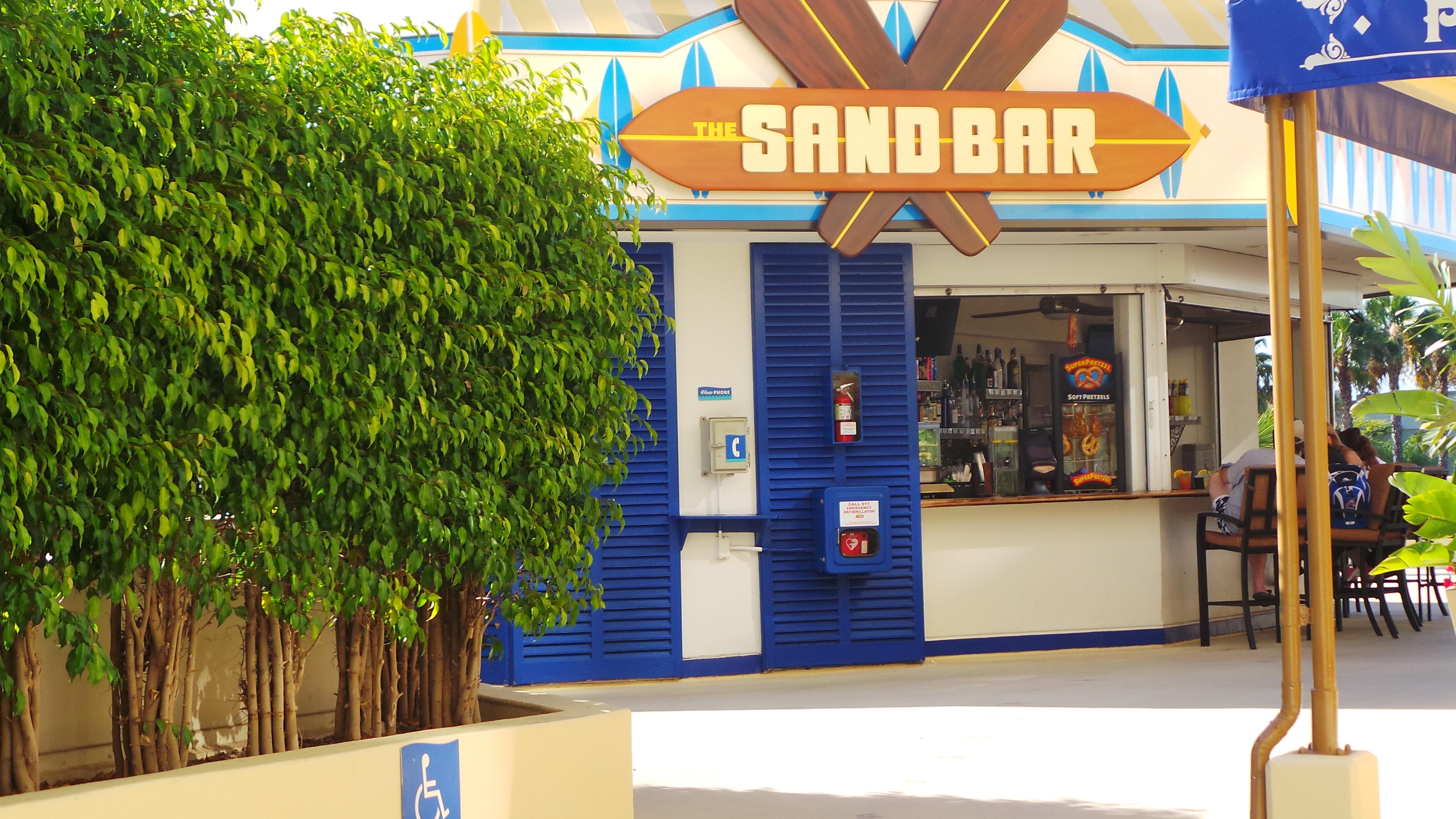 Outside view of the Sandbar