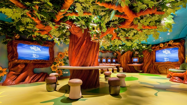 Kids play area on Disney Cruise Ship