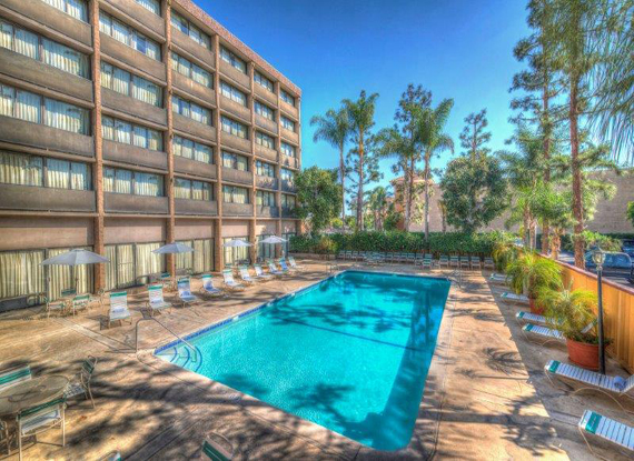 Get Away Today: The pool at the Clarion Hotel
