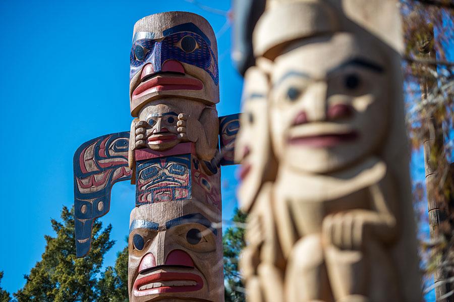 Canadian totem poles