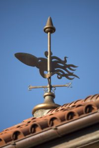 Little Mermaid weather vane