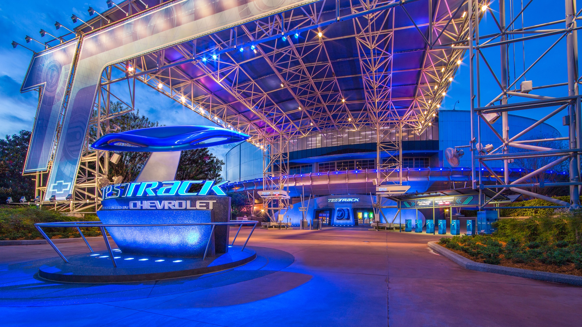 Future World- Test Track at Epcot