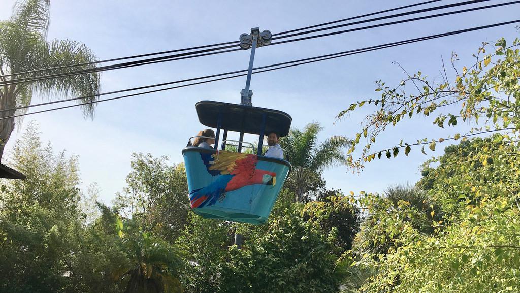 Air tram at the san diego zoo