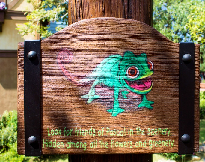 Hidden Pascal sign in the Magic Kingdom