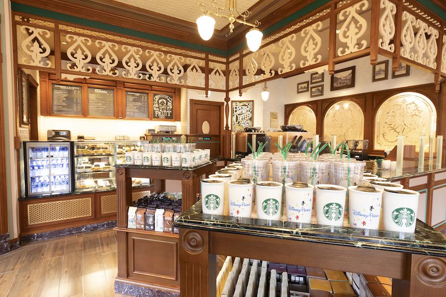 Market House Starbucks in Disneyland
