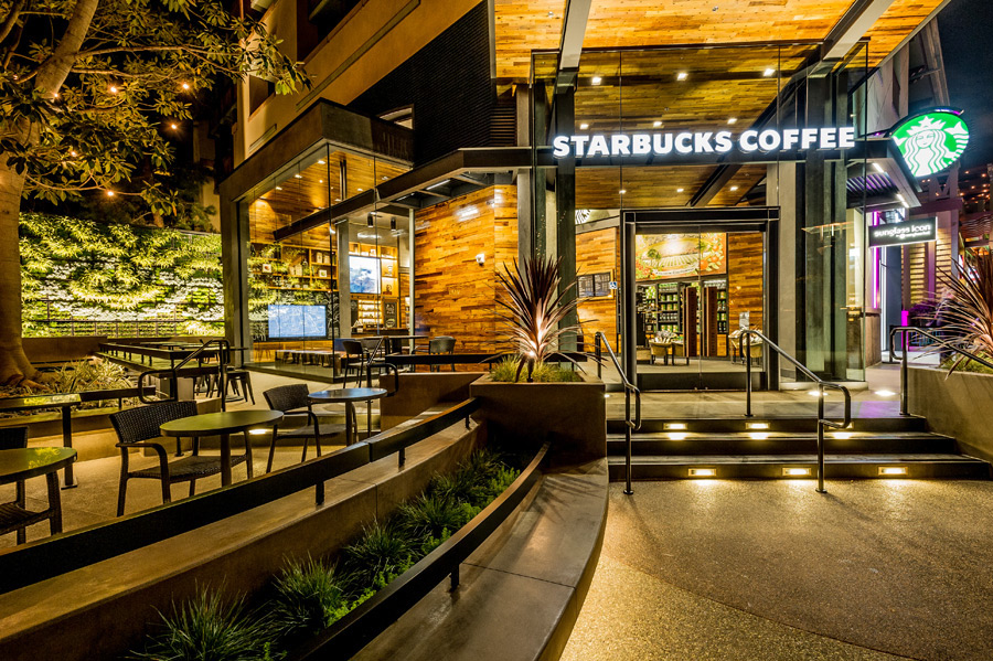 Starbucks Coffee location in Downtown Disney
