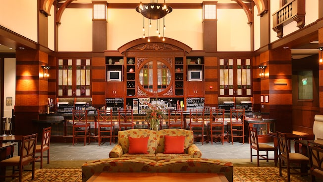 Grand Californian Hotel places to get coffee