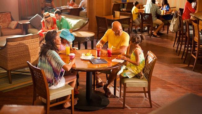 Surfside Lounge at the Disneyland Hotel