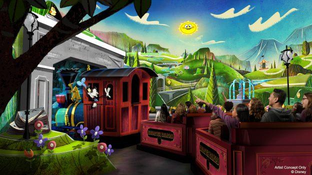 Mickeys Runaway Railroad