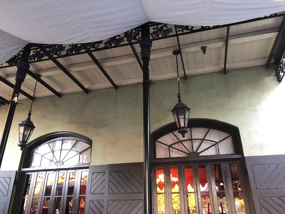Windows and lanterns