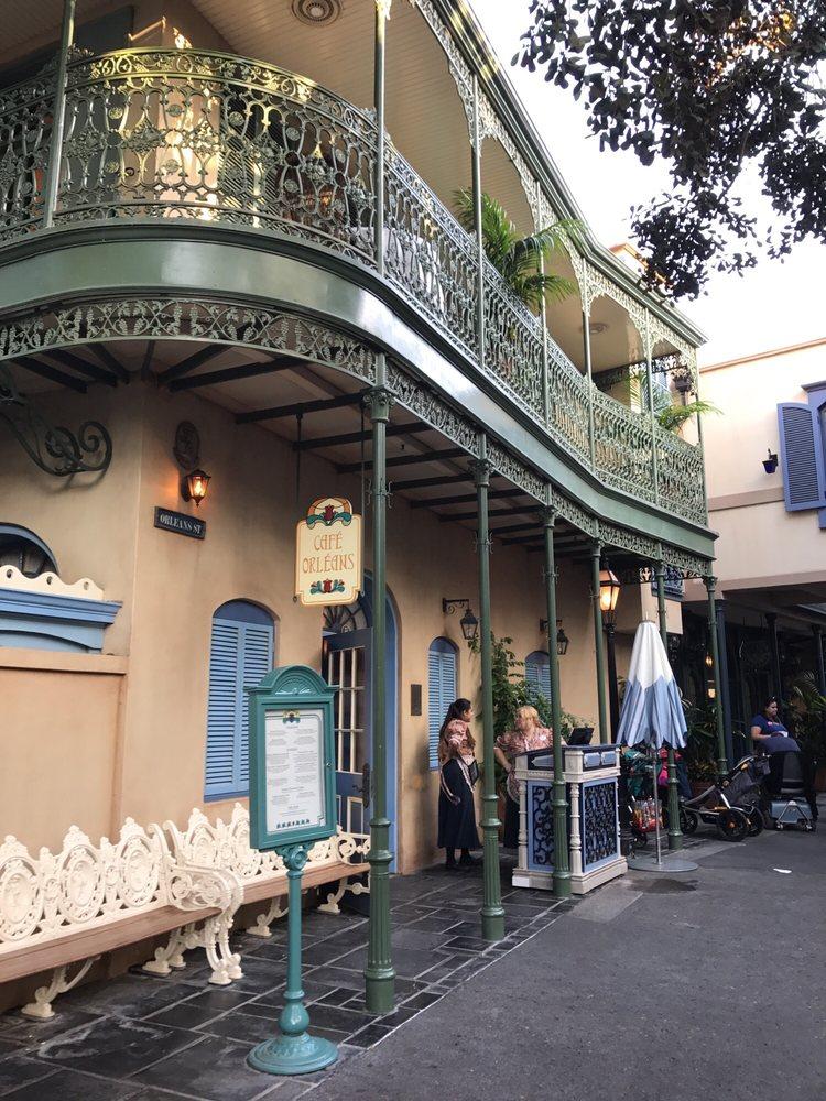 Entrance of Cafe Orleans